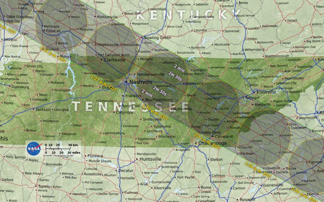 Great Tennessee Eclipse! Come watch with us!
